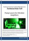 Technical Note #20: Pump Lasers for Ultrafast Amplifiers